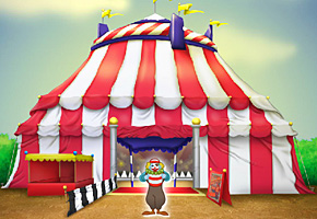 carnival and a clown image