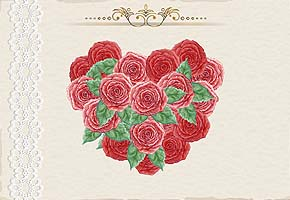 heart shape flowers image